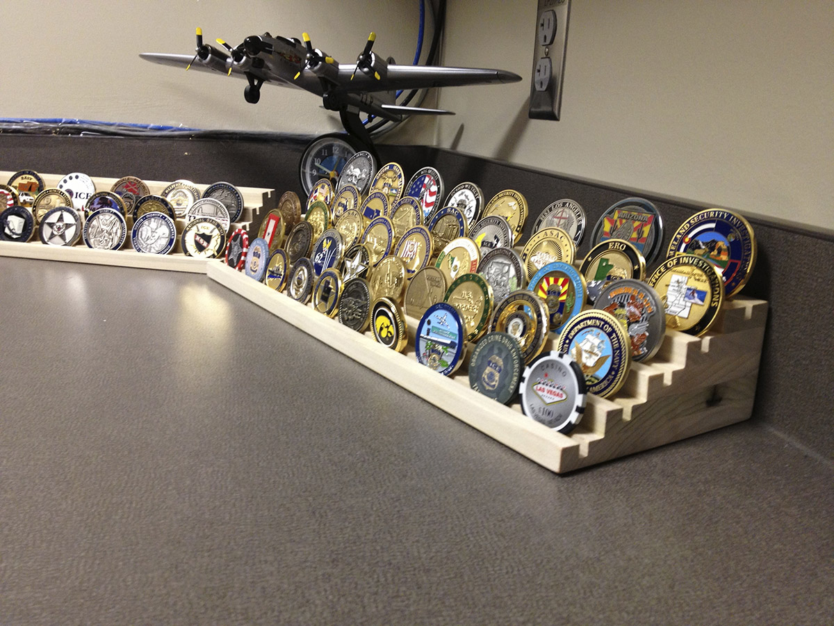 Challenge Coin Holders | MC2 WoodWorks