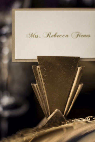 Art Deco Place Card Holders